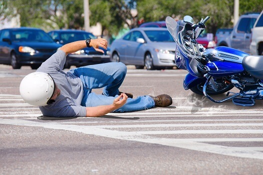 Motorcylce accident in San Diego