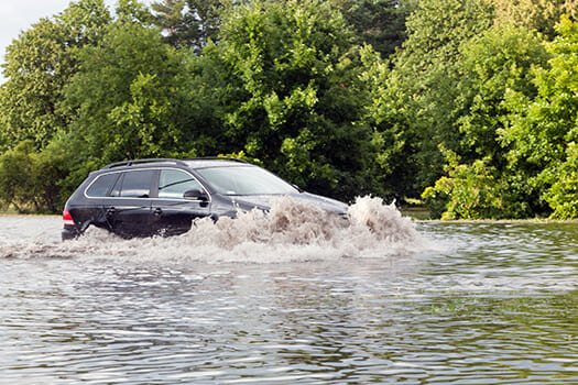 Does Auto Insurance Covers Flood Damages in San Diego, CA