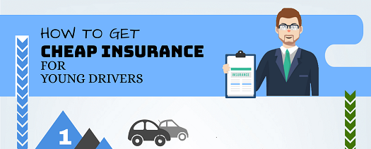 How to Get Cheap Insurance for Young Drivers [Infographic]